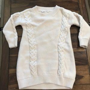 Gap cream sweater dress size XS